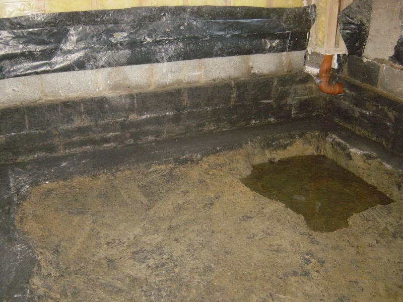 Removal of old contaminated fill